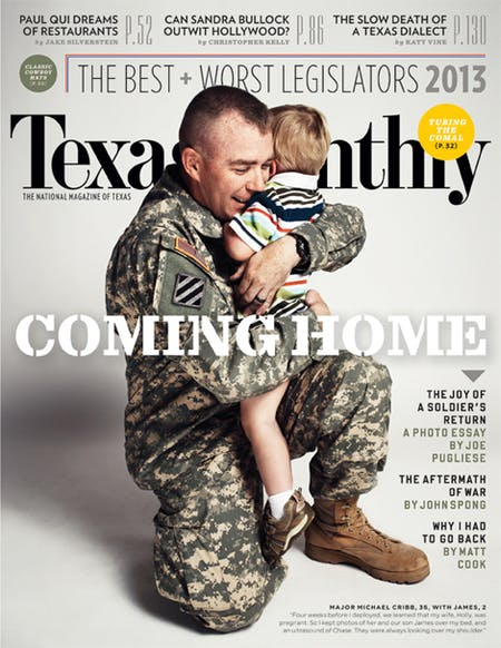 July 2013 issue cover