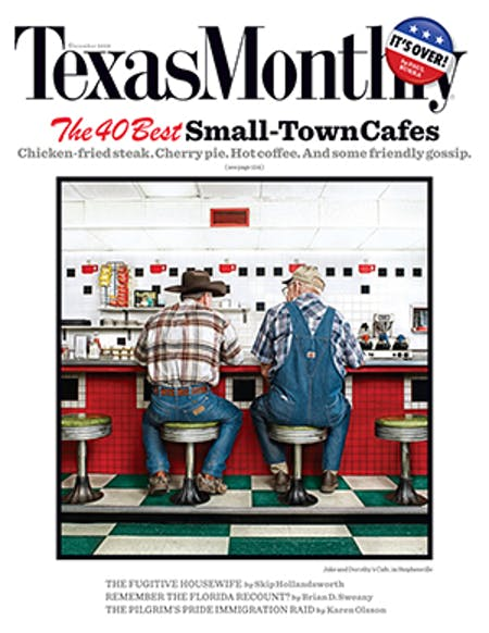 December 2008 issue cover