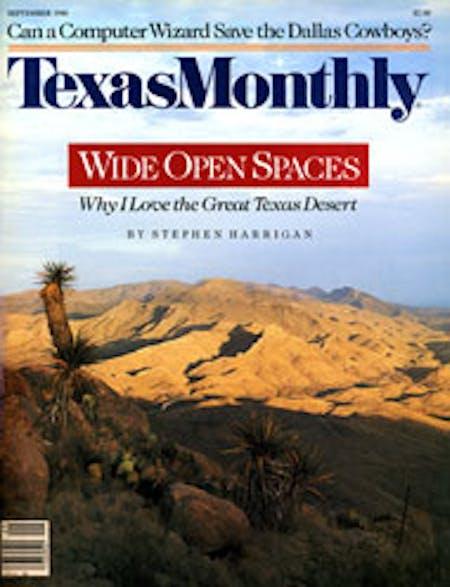 September 1986 issue cover
