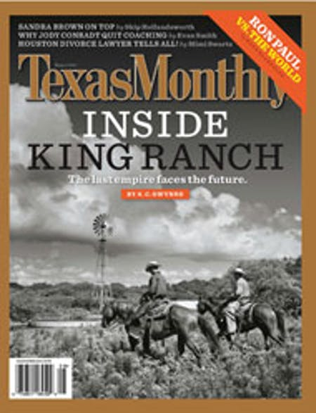 August 2007 issue cover