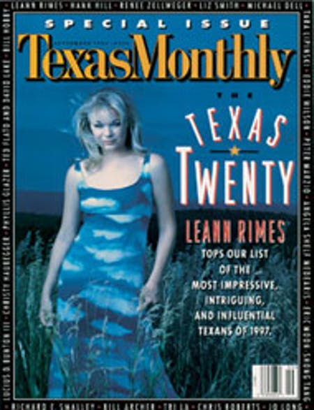 September 1997 issue cover