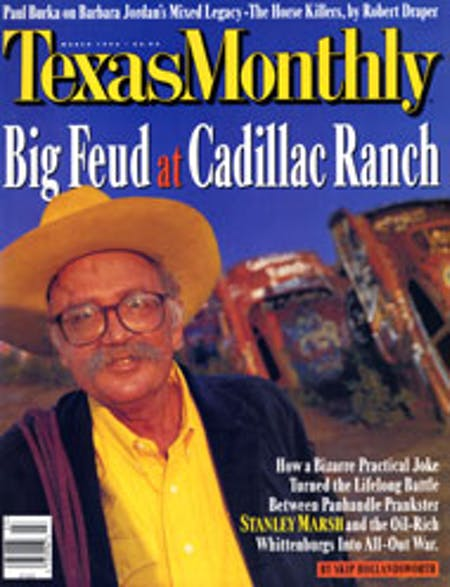 March 1996 issue cover