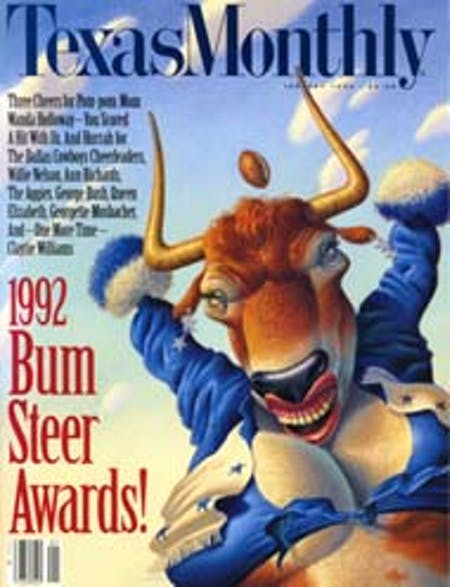 January 1992 issue cover