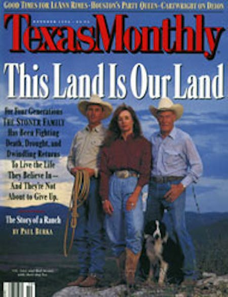 October 1996 issue cover