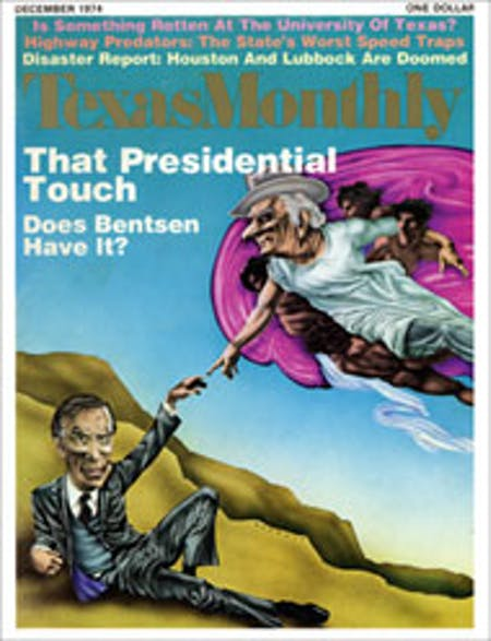 December 1974 issue cover
