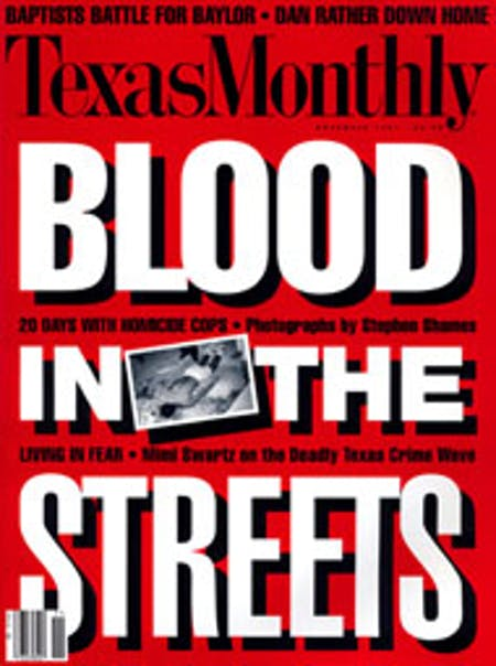 November 1991 issue cover