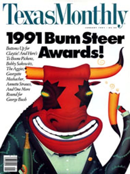 January 1991 issue cover