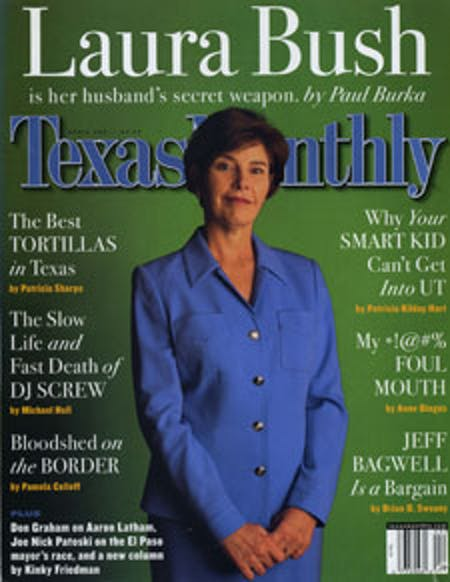 April 2001 issue cover