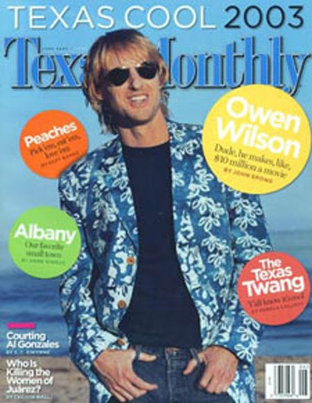 June 2003 issue cover