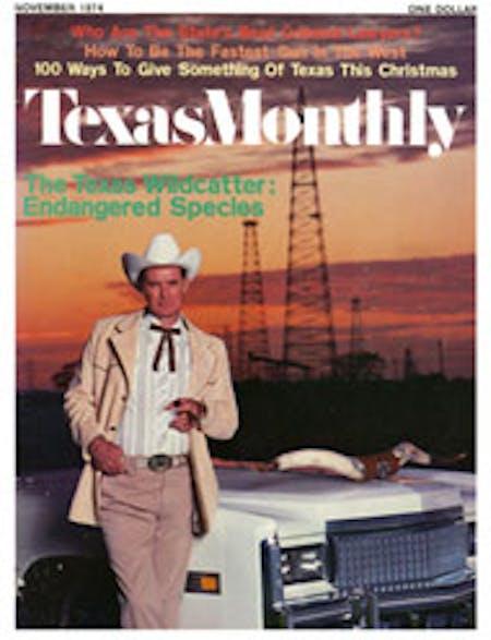 November 1974 issue cover