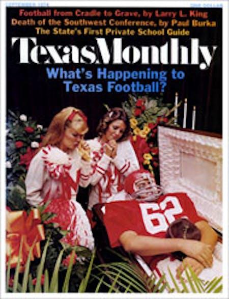September 1974 issue cover