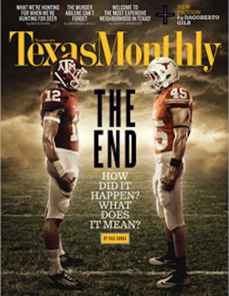 November 2011 issue cover