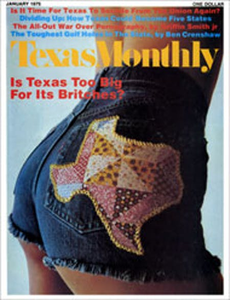 January 1975 issue cover