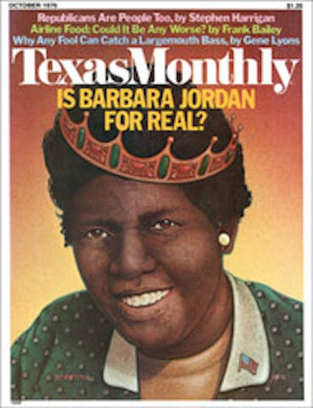 October 1976 issue cover