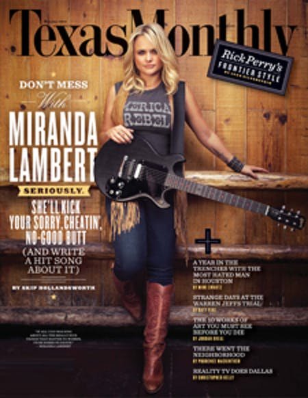 October 2011 issue cover