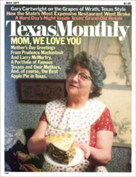 May 1977 issue cover