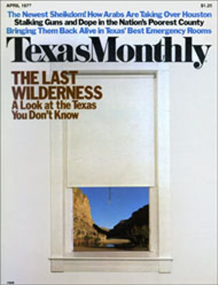 April 1977 issue cover