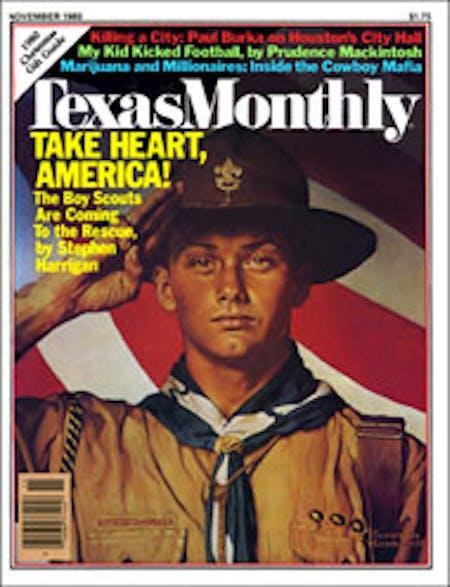 November 1980 issue cover