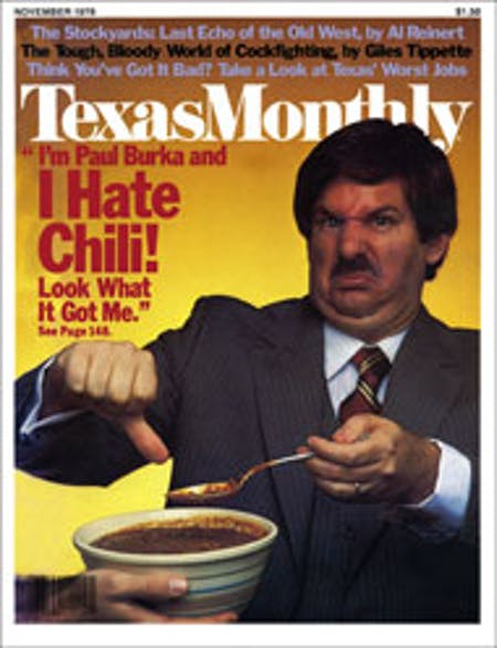 November 1978 issue cover