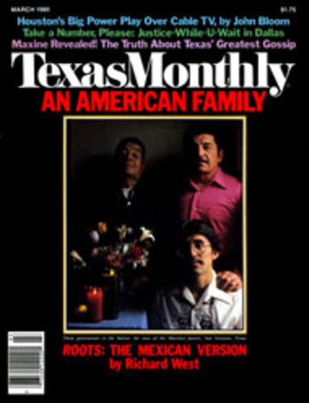 March 1980 issue cover