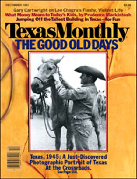 December 1981 issue cover