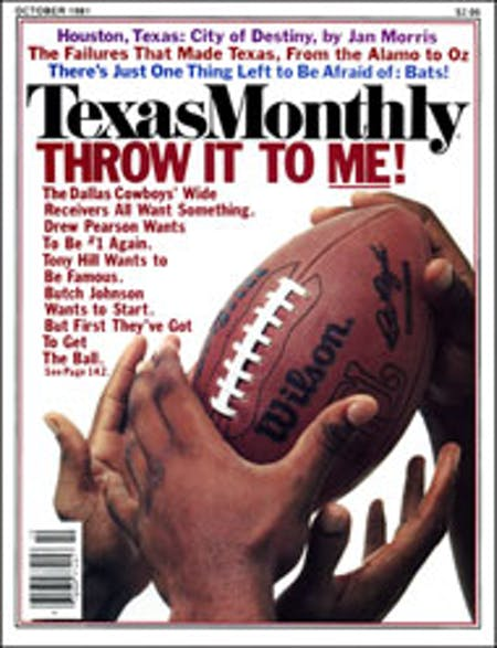 October 1981 issue cover
