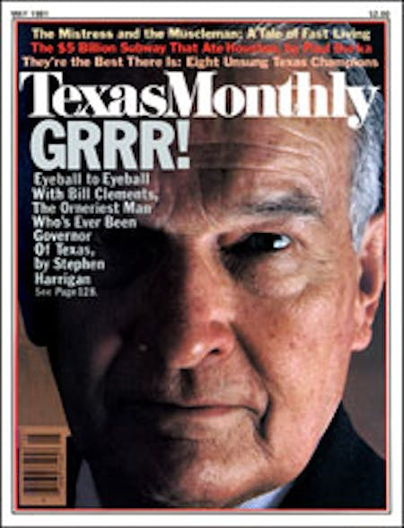 May 1981 issue cover