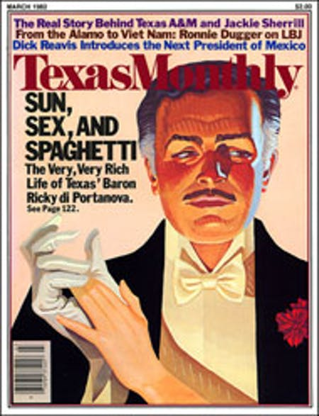 March 1982 issue cover