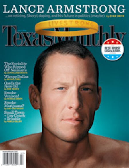 July 2005 issue cover