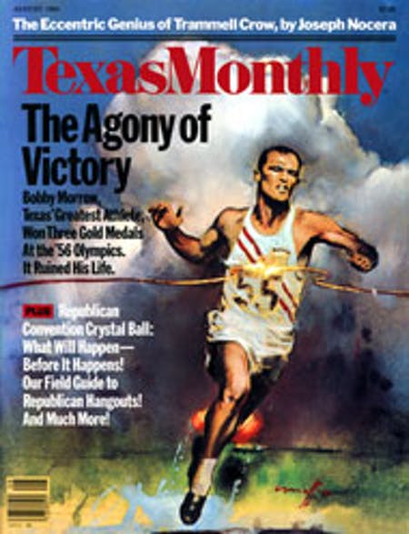 August 1984 issue cover