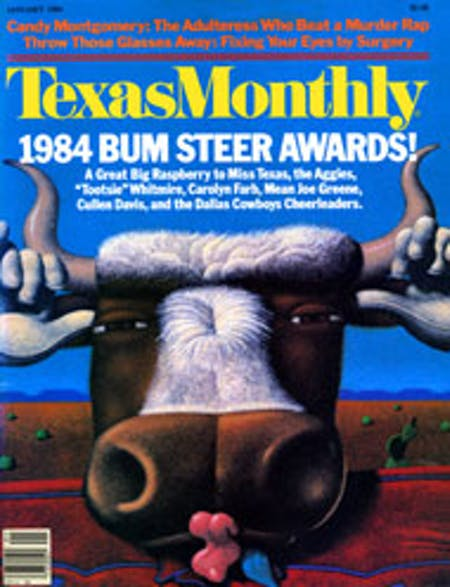 January 1984 issue cover