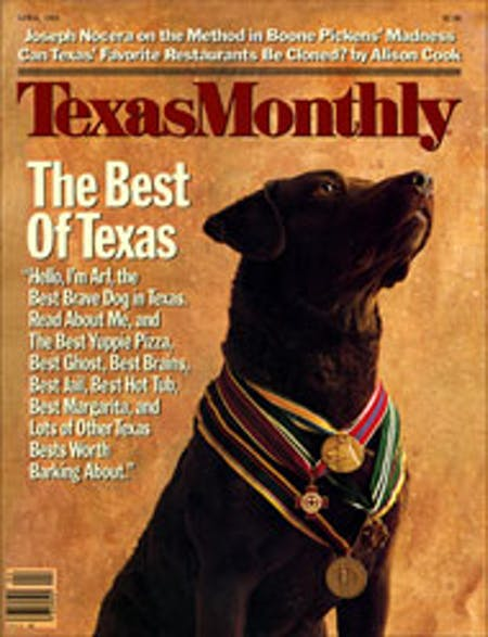 April 1985 issue cover