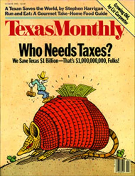 March 1985 issue cover