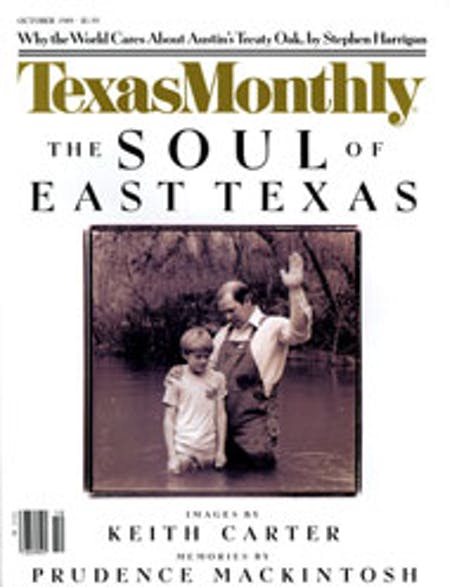 October 1989 issue cover
