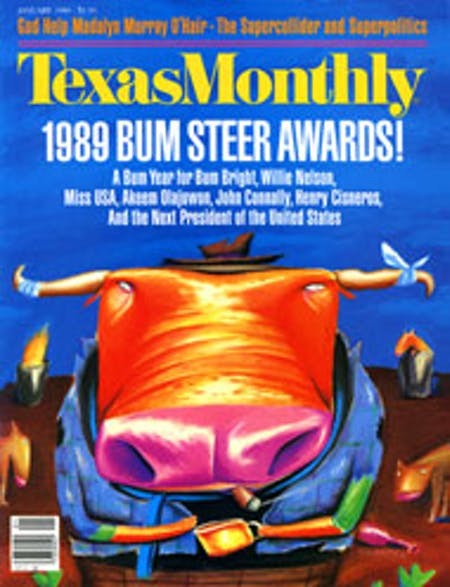January 1989 issue cover