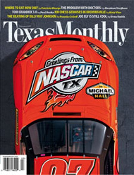 February 2007 issue cover