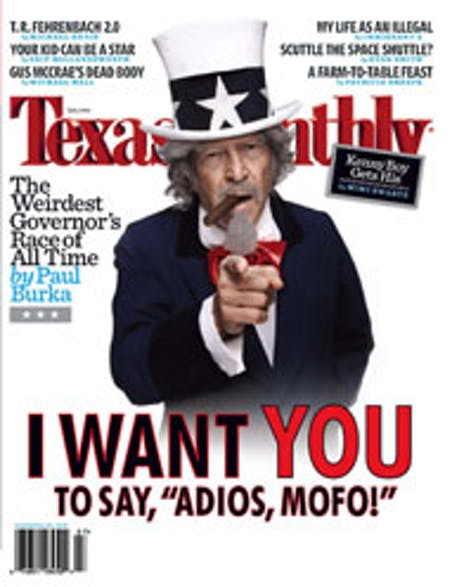 July 2006 issue cover