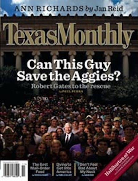 November 2006 issue cover