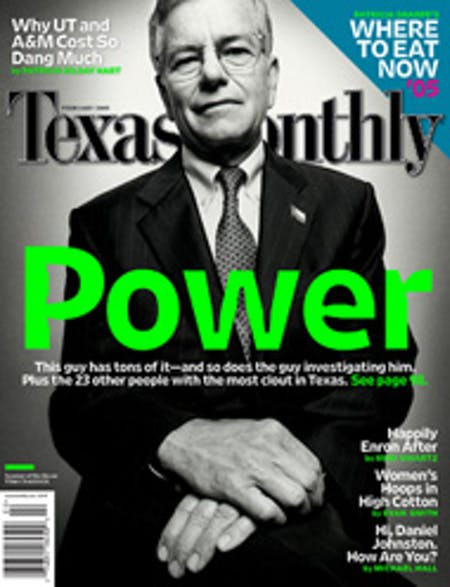 February 2005 issue cover