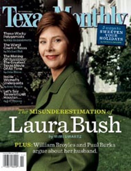 November 2004 issue cover