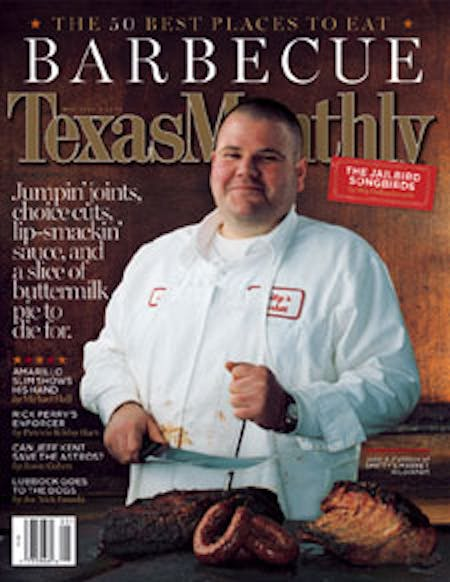 May 2003 issue cover