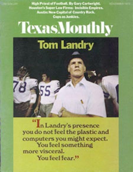 November 1973 issue cover