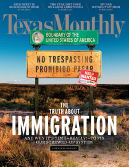 November 2010 issue cover
