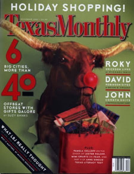 December 2001 issue cover