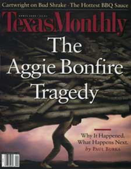 April 2000 issue cover
