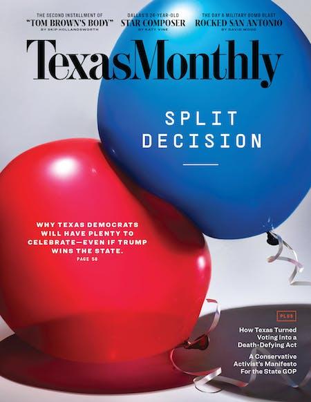 November 2020 issue cover